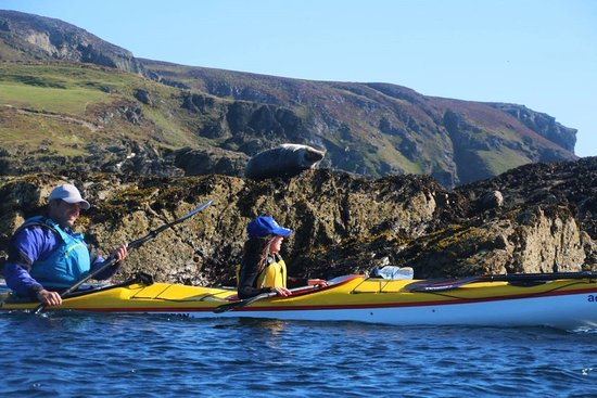 Douglas, UK: Sea Kayaking in the Isle of Man