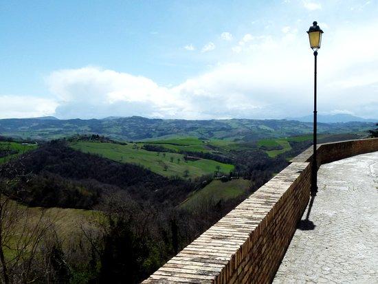 Colbordolo, Italien: Panorami collinari