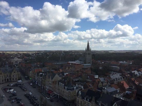 Πολεμικό Μουσείο Φλάνδρας: View from the bell tower