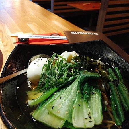 A delicious fresh Veggie Ramen