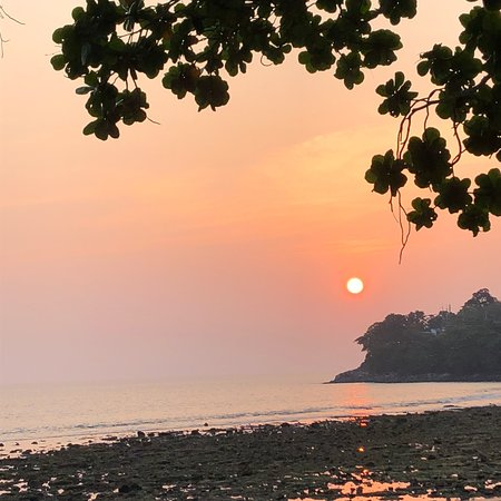 White Box Phuket: The sunset you can see in White Box