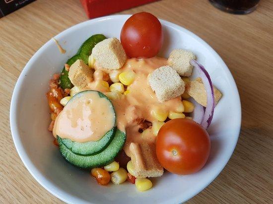 Salad Bowl Picture Of Pizza Hut Kidderminster Tripadvisor