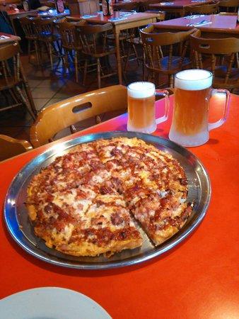 pizza barbacoa....mmmmmm