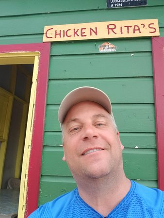 Silver Sands, Barbados: I love chicken