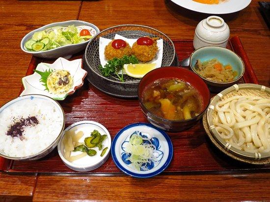 Koedo Kurari Hasshutei: 川越 紅芋御膳 / Set meal of Kawagoe special product potato