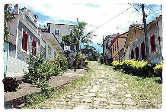 Pousada Portal de Minas: Rua das pedras