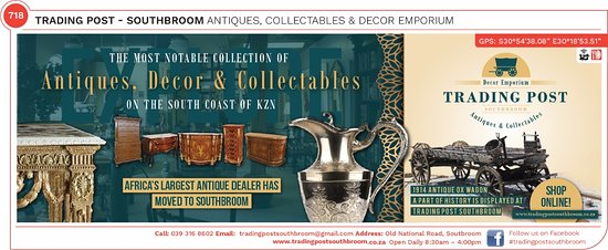 Southbroom, Südafrika: Antiques, Decor and Collectables