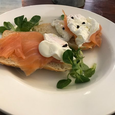 """Girasole: Great """"late breakfast """" for me today in a lovely cosy place! Great taste great coffee and great"""