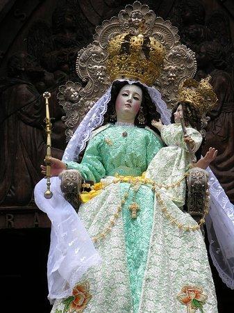 Church of the Virgin of the Holy Water (Nuestra Señora del Agua Santa): Virgen del Rosario