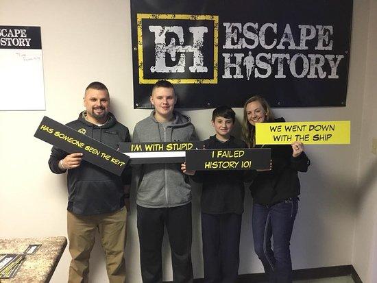 Escape History Escape Rooms