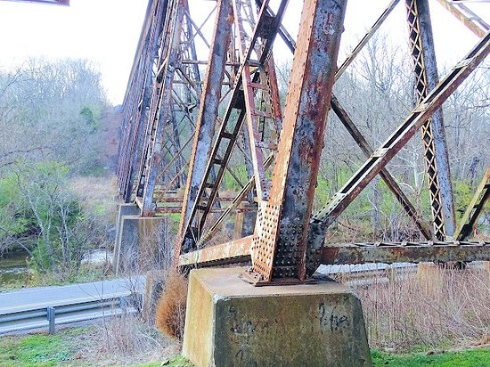 The trestle at pope lick creek unc