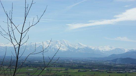 Villar San Costanzo, Italy: Vista