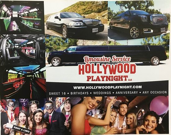 ‪Hollywood Playnight Limousine Services‬