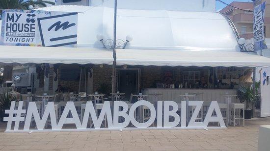 Cafe Mambo : Εξωτερικη αποψη