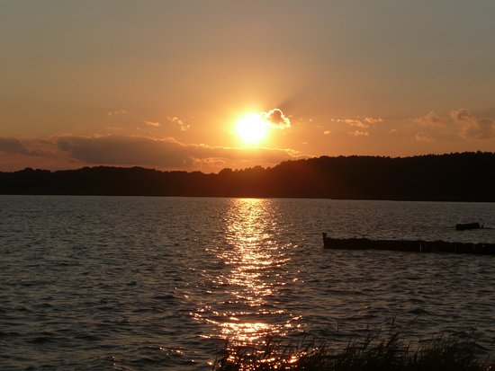 Kamminke, Niemcy: Ein schöner Urlaubstag geht zu Ende