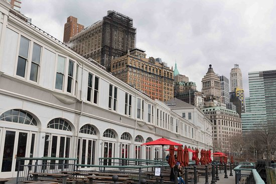 Exterior Y Terraza Picture Of Oyster House Pier A New
