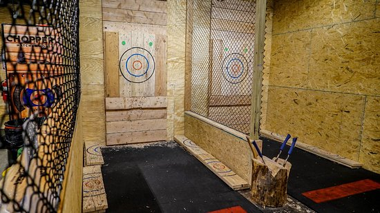 Черри-Хилл, Нью-Джерси: Axe Throwing Arena
