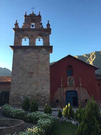 San Agustin Monasterio de la Recoleta Hotel : Walking up to hotel entrance