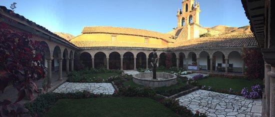 San Agustin Monasterio de la Recoleta Hotel : Courtyard