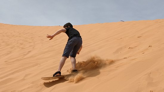Surfing Picture Of Coral Pink Sand Dunes State Park Kanab