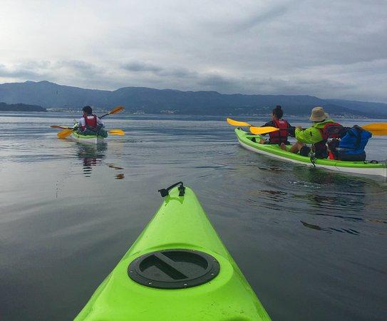 San Vicente do Mar, España: Camino de Santiago en Kayak
