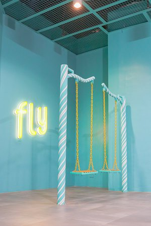 The Dessert Museum: Fly Swing