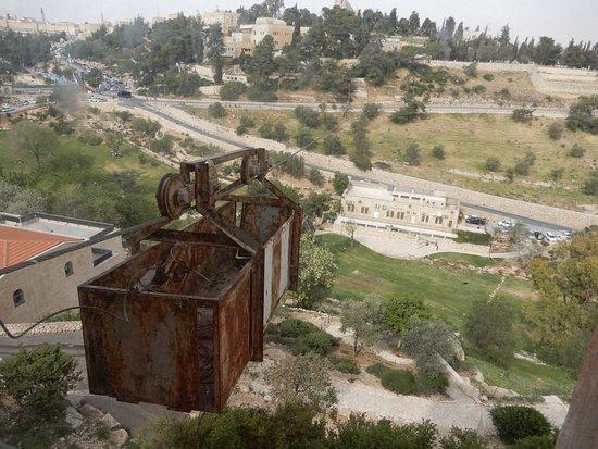 Mount Zion Hotel: nacelle de ravitaillement de la vielle ville