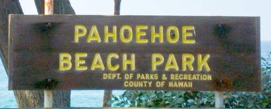 Pahoehoe Beach Park