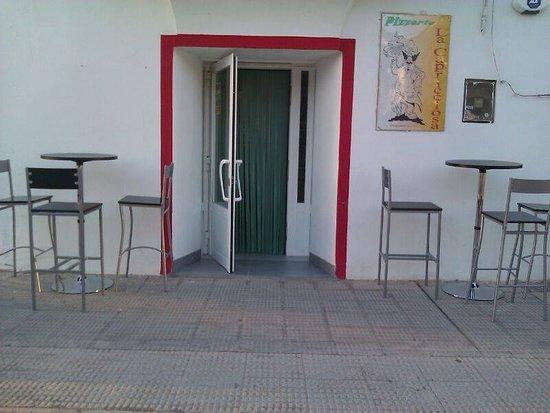 Fuentes de Ebro, España: Nuestra entrada