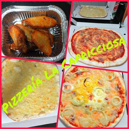 Fuentes de Ebro, España: Puedes complementar nuestras pizzas con raciones.