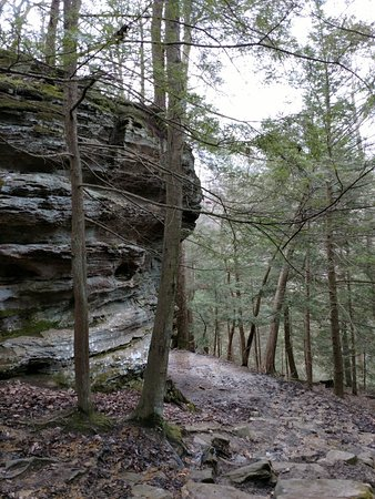 Hocking Hills, OH: Weather did not cooperate, but we went anyway