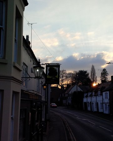 Kenilworth, UK: Royal Oak at sunset