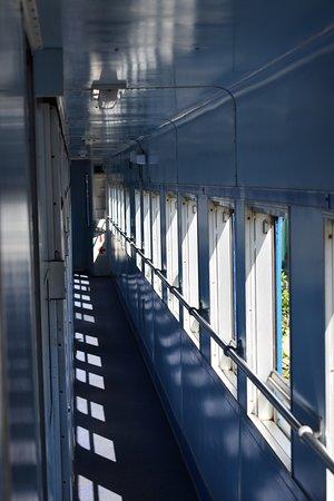 Santos Express: Corredor de um dos vagões