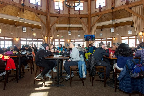 Warren, VT: The design of Rumble's was inspired by the high ceiling of a 19th century round barn.