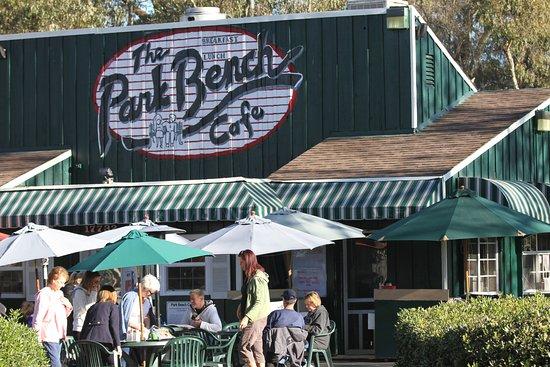 Park Bench Cafe  Goldenwest St Huntington Beach Ca
