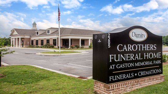 Sign - Picture of Carothers Funeral Home at Gaston Memorial