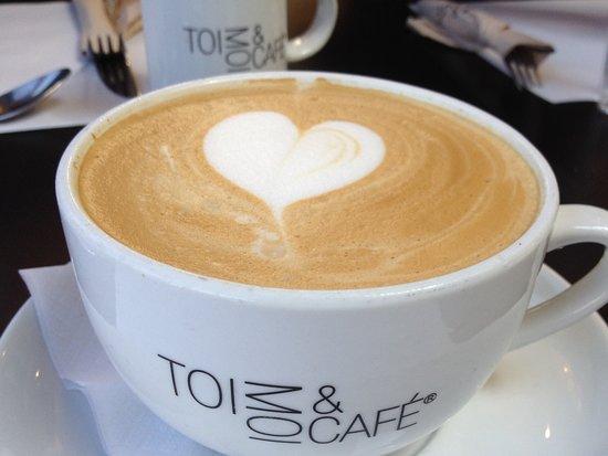 Rosemere, Kanada: Un bon latté !!