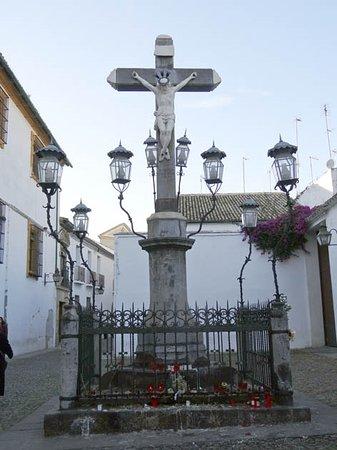 Cristo de los Faroles: the cross