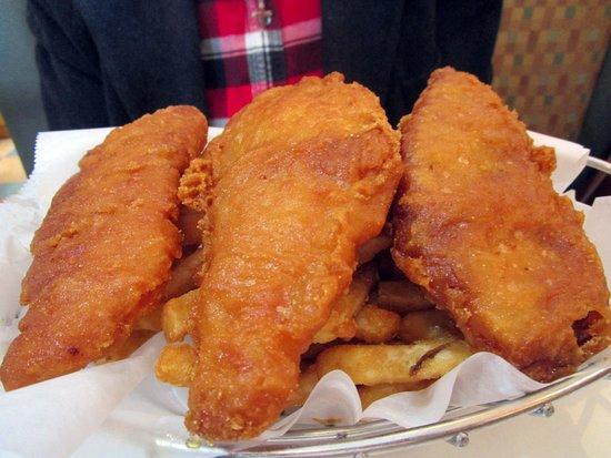 New Providence, NJ: Prestige Diner Fish & Chips