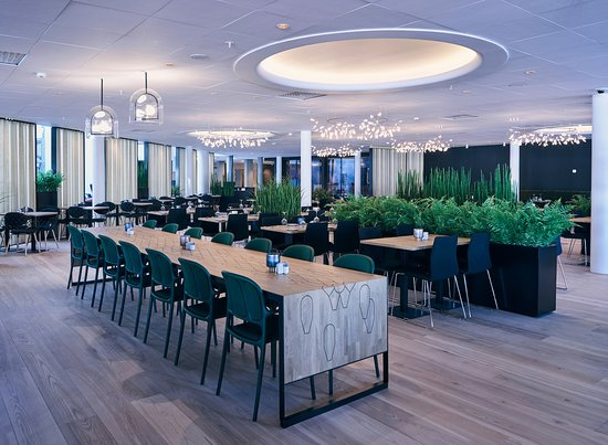 Quality Airport Hotel Gardermoen: Breakfast and lunch area