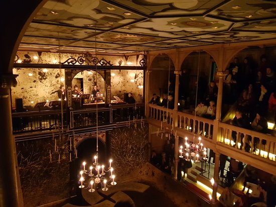 The Sam Wanamaker Playhouse