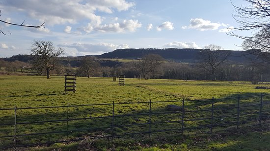 Ashover, UK: View From The Drive