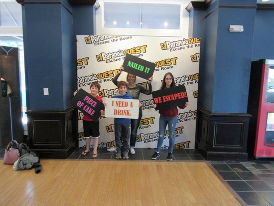 Escape Room Buford Mall Of Georgia Picture Of Paranoia