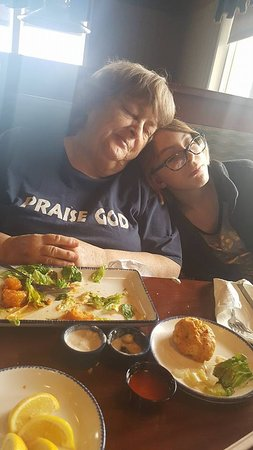 Red Lobster: We ate so much we couldn't sit up!
