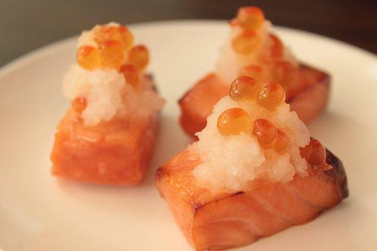 Salmon Saikyoyaki サーモンの西京焼き