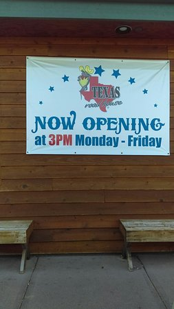 Open at 3pm