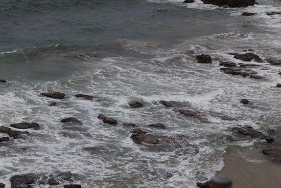 Swansea, Australia: Rocks and ocean