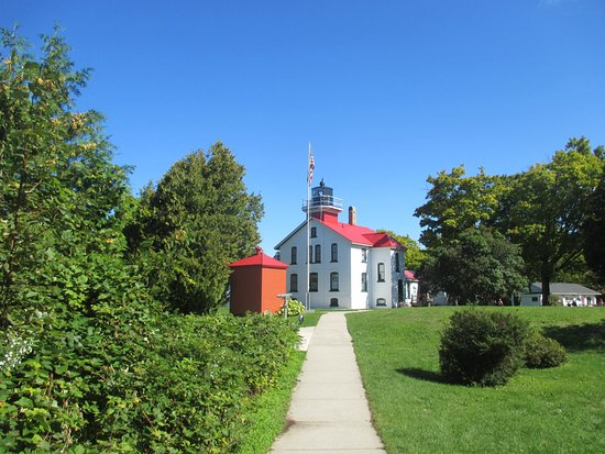 Northport, Мичиган: The Grand Traverse Lighthouse