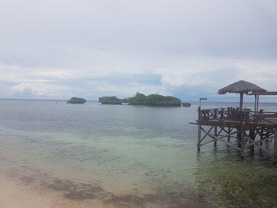 Patuno Resort Wakatobi: Vista do pier