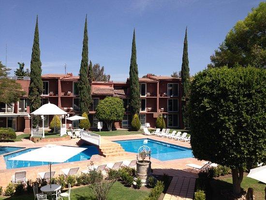 Real de Minas San Miguel de Allende: View from my balcony.